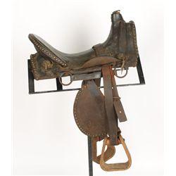 Indian Wars Brass Tacked Saddle
