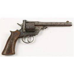 Unknown antique Belgian revolver SN: 53