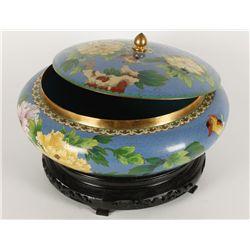 Large Oriental Cloisonne Bowl