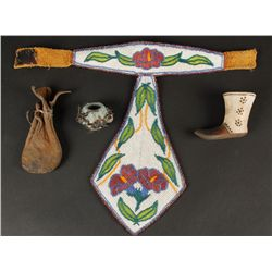 Collection of (5) Native American Items