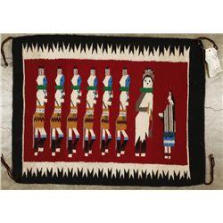 Navajo Yei Be Chai Rug