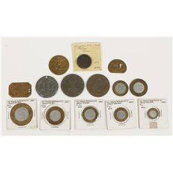 Collection of Tokens and Medallions
