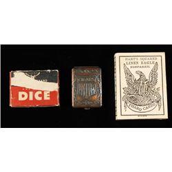 Vintage Gamblers Lot