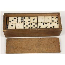 Civil War Era Hand Made Dominoes