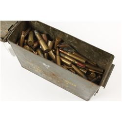 Ammo Can with Ammo and Brass