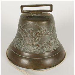 U.S. Cavalry Brass Warning Bell