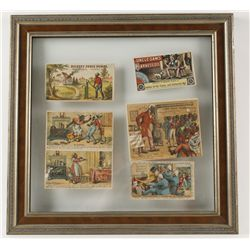 Collection of (5) Vintage Advertising Cards
