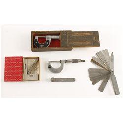 Lot of (5) Precision Tools