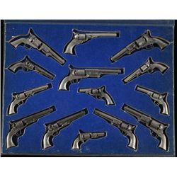Colt Miniature Pewter Set
