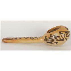 Hand Painted Hopi Ladle