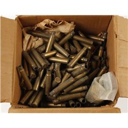 Box Lot of Brass
