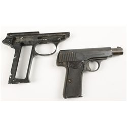 Lot of Two Walther Pistol Frames Model 4 & p38