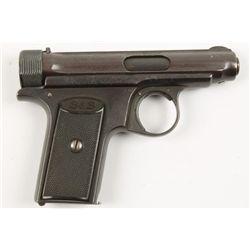 J. P. Sauer & Sohn 1913 CAL: 7.65mm SN: 141349