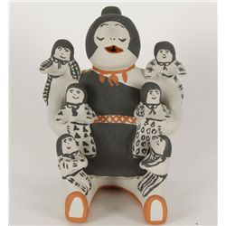 Cochiti Pueblo Story Teller Figure