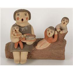 Jemez Pueblo Storyteller Figure