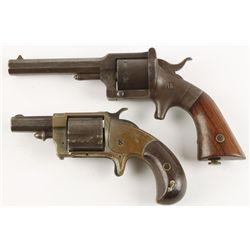 Lot of Two Rimfire Revolvers NVSN