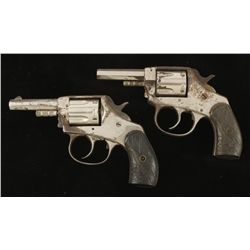 Lot of Two American Bulldog Revolver