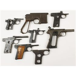 Lot of (8) Misc Semi Auto Pistol Frames