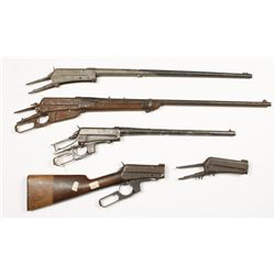 Lot of Winchester 95 Actions and Barreled Actions