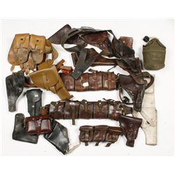Large Box of Holsters