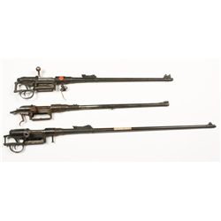 Lot of (3) Steyr Barreled Actions
