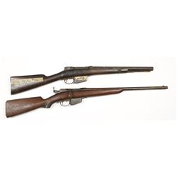 Lot of (2)Remington Lee 1879 Cal 45-70 NVSN