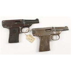Lot of Two Davis Warner Semi Auto Pistol Infallibl