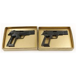 Lot of 2 MAB Incomplete Pistols P-15 9mm