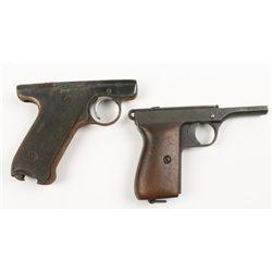 Lot of Two Pistol Frames Mauser & Ruger