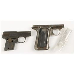 Lot of 2 Semi-Auto Parts Pistols