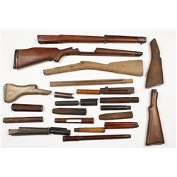 Lot of Misc Stocks and Forearms