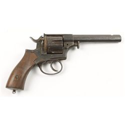Unknown Double action revolver Cal: Unknown SN: NV
