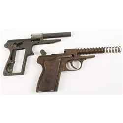 Lot of Two Pistol Frames Hege & ?