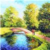 Image 1 : Alexander Antanenka, A Walk in the Fresh Air, Signed Canvas Giclee