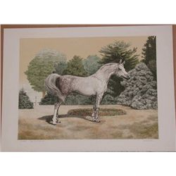 Mel Hunter, Arabian, Signed Lithograph
