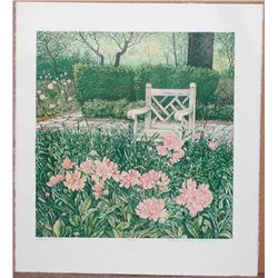 Gregory Johnson, Mothers Garden, Signed Lithograph
