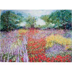 Wanda Kippenbrock, Spring's Arrival, Signed Canvas Print