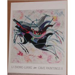Li Zhong-Liang, Cave Paintings II Poster