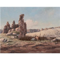 Below Acoma by Niblett, Gary