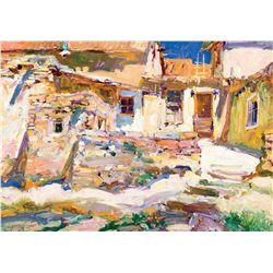 Laguna Pueblo by Gonske, Walt