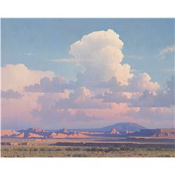 Evening Clouds, Desert Shadows by Stack, Michael