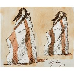 Study for Sacagawea, Study for a Bust Two (Sacagawea) by Jackson, Harry