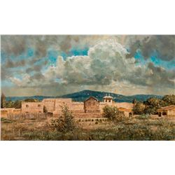 Storm Over Rancho de Taos by Abbett, Robert