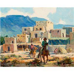 Pueblo by Reed, Marjorie