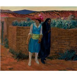 Mother and Daughter, Santa Fe by Sloan, John