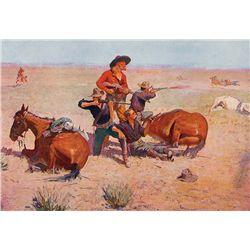Remington's Four Best Paintings by Remington, Frederic