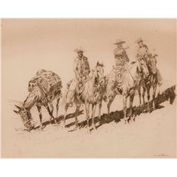 Grass Hunters No 1 by Borein, Edward