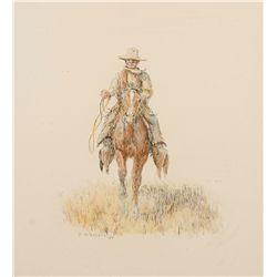 Cowboy  by Wieghorst, Olaf