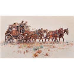 Stagecoach   by Eggenhofer, Nicholas