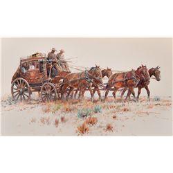 Stagecoach   by Eggenhofer, Nicholas